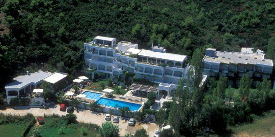 Briq acquired the Plaza hotel on Skiathos Island