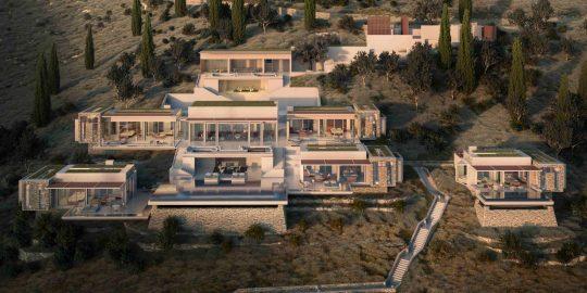 The new 5-star hotels of Kea island