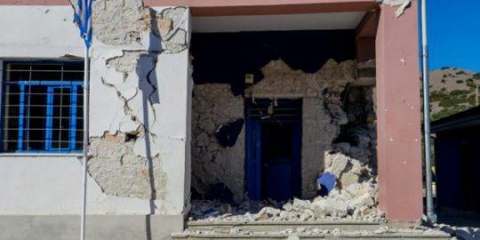 GEK TERNA to rebuild earthquake-hit school in Damasi, central Greece
