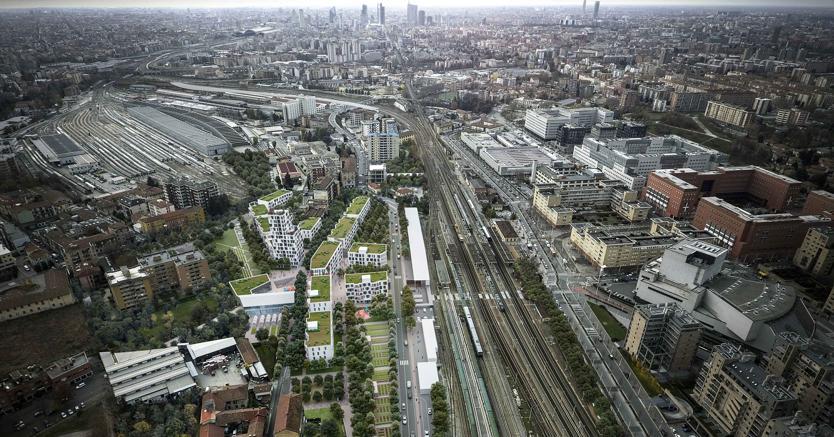 Green spaces, social housing and hostels: urban renewal in Milan