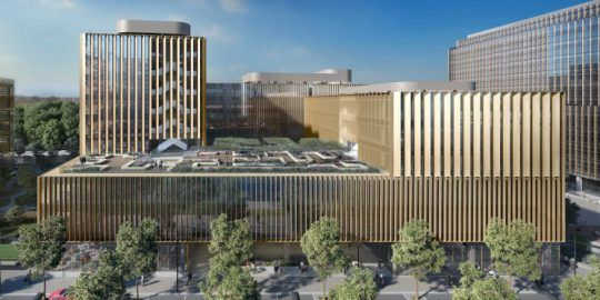 EXEO Office Campos Under Construction in Lisbon's Parque das Nações
