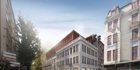 Avenue Building Bonjardim in Porto, Investing €57 Million